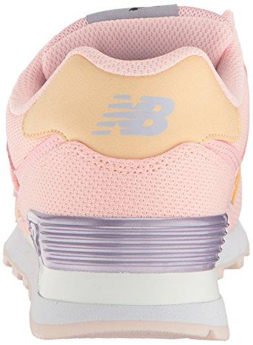 Nuovo Equilibrio Damen Wl574 Sneakers Arancione (inchiostro Arancione Bruciato)