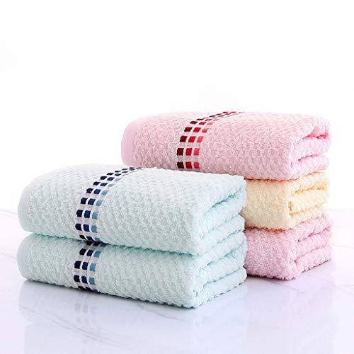 BNBO-L HWH Baumwolltuch, Waschen Sie Ihr Gesicht Haushalt Waschlappen Weiche Erwachsene Abwischen Gesicht Männer Und Frauen Wasseraufnahme Kind 5 stücke Saugfähige Handtücher (Farbe : C)