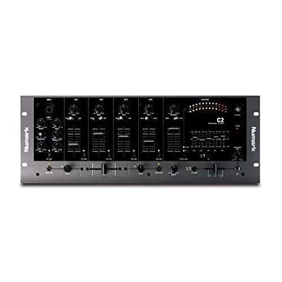 Numark C2 - 4-Channel 19 Inch Rack DJ Mixer With Microphone Section New