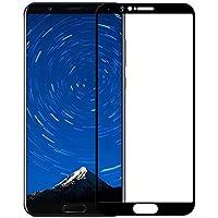 [2 Pack] Huawei Honor View 10 Protector de Pantalla,Electro-Weideworld 3D Pro-Fit Pantalla Completa Cristal Templado Pantalla protectora para Huawei Honor V10,Negro