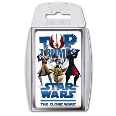 Preisvergleich Produktbild Winning Moves 60727 Top Trumps: Star Wars - The Clone Wars