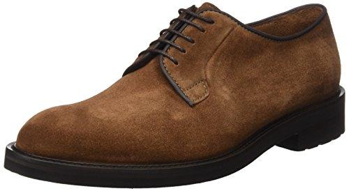 Lottusse L6692, Zapatos de Cordones Derby para Hombre, Marrón Buckster Snuff Buckster Snuff, 44.5...