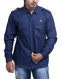 PP Shirts Men Denim Casual Shirt