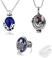 PPX Daywalking Katherine Necklace Pendant Charm Necklace-Royal Blue and Vampire Diaries Daylight Walking Signe
