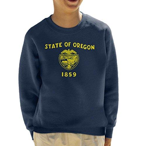 Oregon State Flag Kid's Sweatshirt