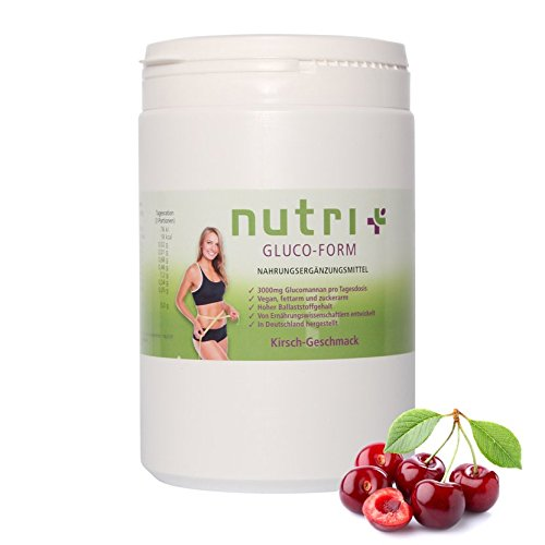 Glucomannan-Drink zum Abnehmen – Nutri-Plus Gluco Form mit Konjak-Extrakt – Appetitzügler