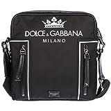 Dolce & Gabbana Umhängetasche Herren Tasche Schultertasche Messenger Nylon Schwarz