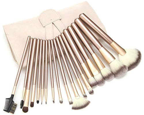 Makeup Pinsel Burste Brush Set Fundation Lidschatten ()