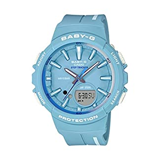 Casio Baby-g Analog-Digital Blue Dial Women's Watch – BGS-100RT-2ADR (BX106)