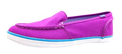 Size 13 Keds Girl's Surfer Neon Canvas Casual Shoes