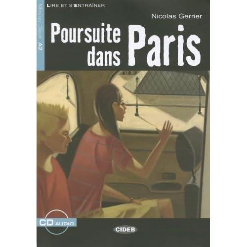 Poursuite dans Paris (1CD audio)