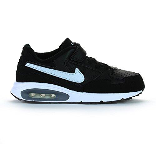 Nike ,  Unisex-Kinder Sneakers , - schwarz / weiß - Größe: 31 EU (Nike Sneakers Größe 13 Schwarze)
