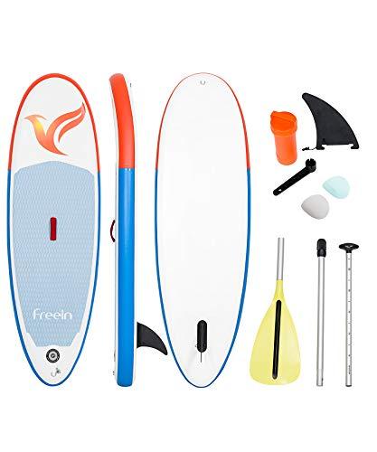 Freein Cruise SUP Board Set für Kinder | Aufblasbares Stand Up Paddle Board | 7'8
