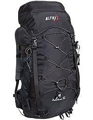 Altus Aventura 32 - Mochila, unisex, color negro / rojo, talla única