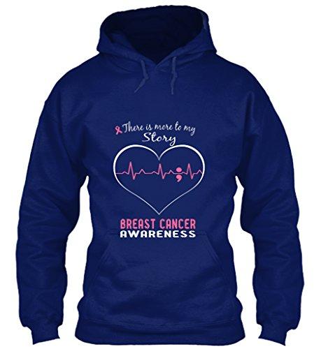 Bequemer Hoodie Damen / Herren / Unisex von Teespring   Originelles Outfit für jeden Anlass und lustige Geschenksidee - Breast Cancer Awareness (Kleidung Breast Awareness Cancer)