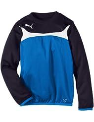 PUMA Sweatshirt Esito 3 Training Sweat - Sudadera de fútbol para niña, color azul, talla 12 años (152 cm)