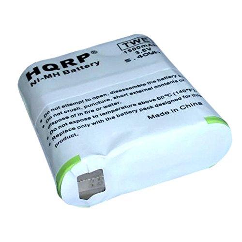 HQRP Akku für Motorola T5422 / T5428 / T5532 / T5622 / T5725 / T6000 / T6200 Zwei-Wege-Radio + HQRP Untersetzer -