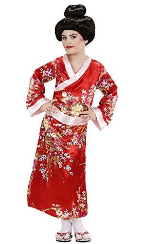 Imagen de geisha disfraz pequeño 7.5 años de los niños 128cm para oriental del vestido de lujo de china