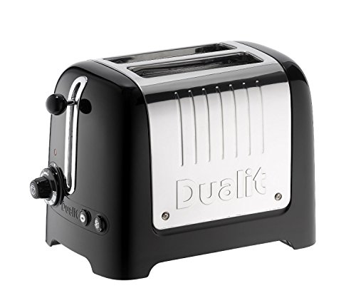 Dualit 26205 2 Slice Lite Toaster in Black