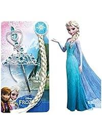 Lot accessoires Reine des Neiges Elsa