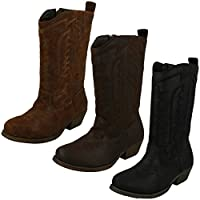 Cutie Girls Mid-Calf Cowboy Style Boots