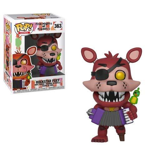 Funko Five Nights at Freddy's Pizza Simulator-Rockstar Foxy Collectible Figure, Multicolor