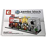 Coca-cola Lego Like Building Blocks From Sembo Blocks To Construct Coca-cola Factory Educational Toy For Kids----132 Pcs