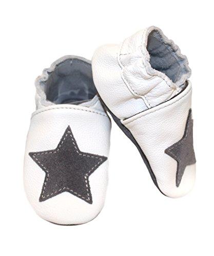 De Couro Sapatos Do De Rastejando 16 Babice Cinzenta Meses Babice Sapatos germany 17 Diferentes Com Estrela Hobea Em De Estrela 0 Cores Tamanho 6 Sapatos Cinza Estrelas De Bebê Sapato Branca aOwtq5g5