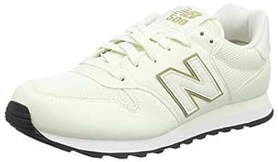 Wl565v1, Sneaker Donna, Nero (Black/Gold), 40 EU New Balance