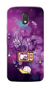 MTV Gone Case Mobile Cover for Motorola Moto G4 Play