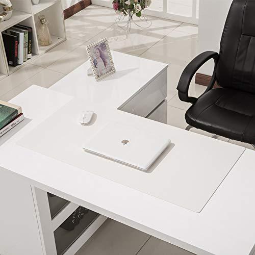 Cojín ratón escritorio Antideslizante PU PIEL Tapete
