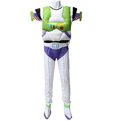 (DLucc Toy Story Buzz Lightyear Halloween-Kostüm Cosplay Kleidung Uniformen)