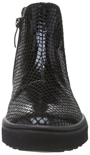 Tamaris 25441, Bottes Chelsea Femme Noir (Black Struct. 006)