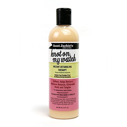 Aunt Jackie's Knot on my watch Instant Detangling Therapy 355ml - Horn Hair Comb