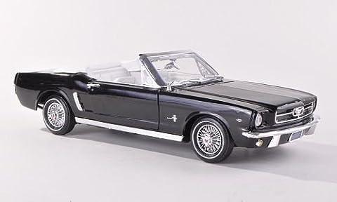Ford Mustang Convertible, schwarz , 1964, Modellauto, Fertigmodell, Motormax