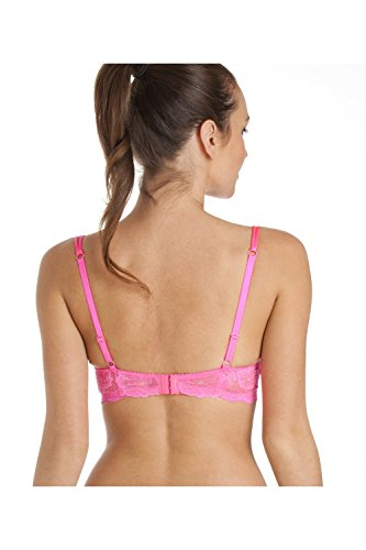 Reggiseno imbottito push-up con ferretto super boost - Rosa acceso Rosa