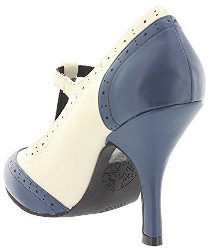T.U.K., Scarpe col tacco donna Blu (blu)