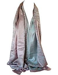 565aa8f6f41 Bullahshah Qualité deux faces impression libre en relief Pashmina sensation  Wrap écharpe étole châle