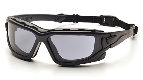 Pyramex I-Force Schlank Sportlich Dual-Fenster Anti-Fog -Objektiv -Schutzbrille (Grau)