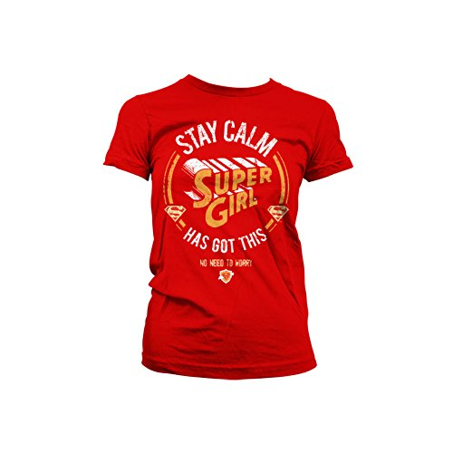 l Has Got This dames T-shirt rood - Superhelden merchandise strips ()