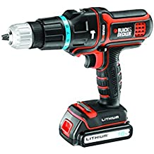 Black + Decker MT188KB-QW Multievo Perceuse à percussion avec 2 batteries 27 W 18 V