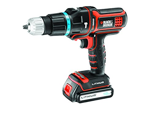 BLACK+DECKER MT188KB - Taladro percutor multiherramienta