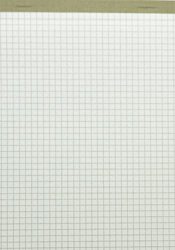 LANDRE-100050636-Notizblock-10er-Pack-ohne-Deckblatt-A5-kariert-60-gm-50-Blatt-schwarz-geflzelt-perforiert