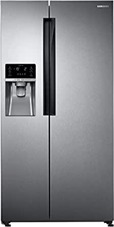 Samsung RS58K6417SL Frost-free Side-by-Side Double-door Refrigerator (654 Ltrs, EZ Clean Steel)