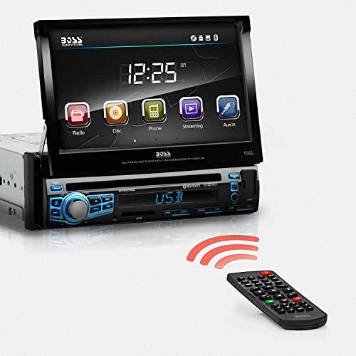 'BOSS AUDIO Systems bv9976b schwarz Multimedia Receiver KFZ--Empfänger Multimedia Kfz-(17,8cm (7), 800x 480Pixel, schwarz, 177,8x 177,8x 50,8mm) (Car Audio Boss Dvd)