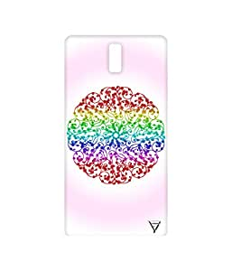 Vogueshell Round Pattern Printed Symmetry PRO Series Hard Back Case for Oneplus One