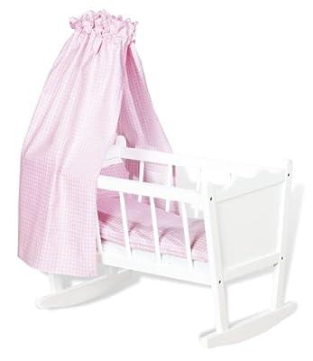Pinolino 252414 Merle - Cuna para muñecas en color blanco por Pinolino