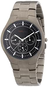 Pure Grey Titanium Gents Watch Multifunction Flat Line Nr. 1594 S