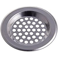 CHIC*MALL Stainless Steel Sink Strainer Drain Filter Kitchen Bath Hair Catcher Trap