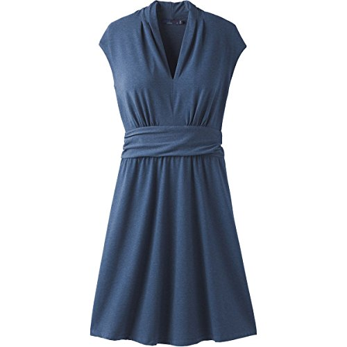 prAna–Damen berry Kleid Equinox Blue